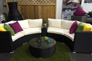 Curved Patio Set