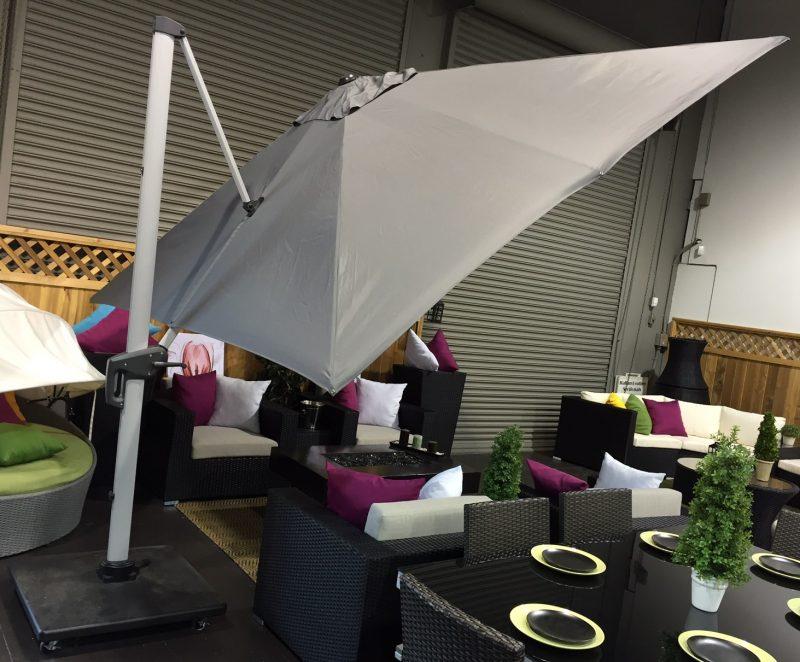 10ft Cantilever Overhanging Umbrella