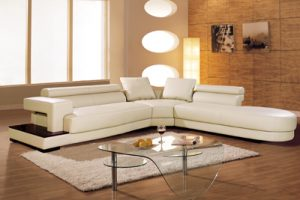 Modern Sectional Couch, the Zita