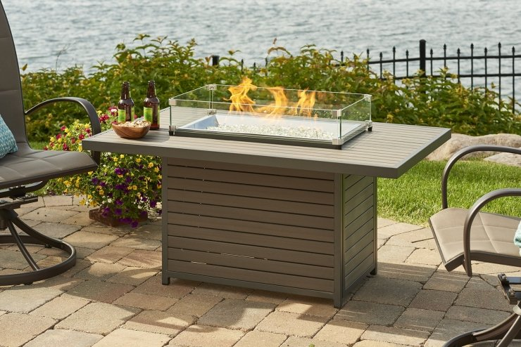 Brooks Fire Table | Vancouver Sofa & Patio