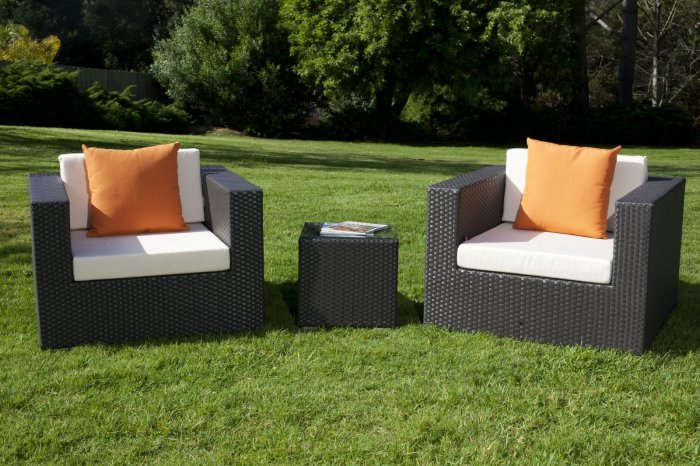 Patio Club Chairs