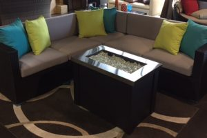 The Malta condo size patio sectional