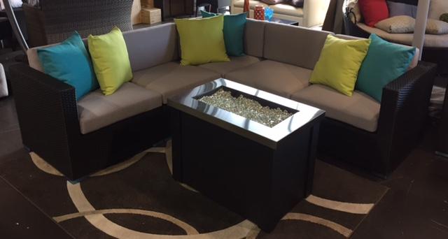 The Malta condo size patio sectional