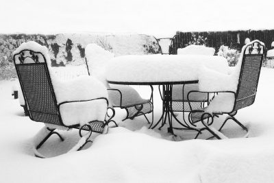 Five Tips For Cleaning Your Outdoor Furniture