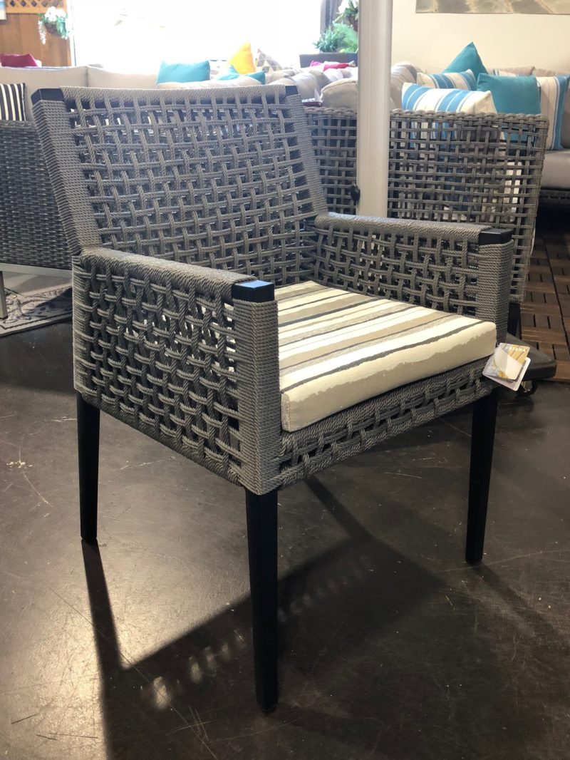 Genval Dining Table Ratana Arm Chair