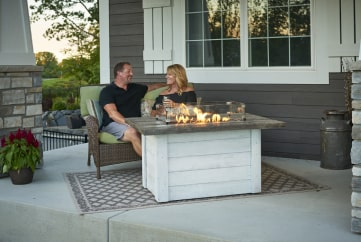 Outdoor Gas Fire Tables