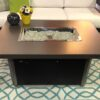 Caden gas fire table