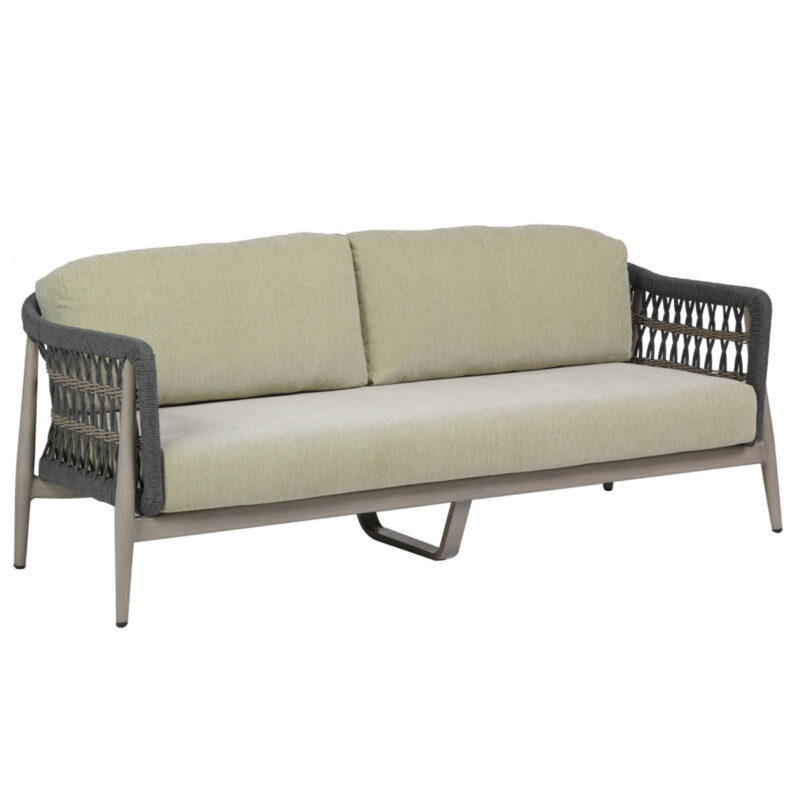 The Coconut Grove Ratana sofa.