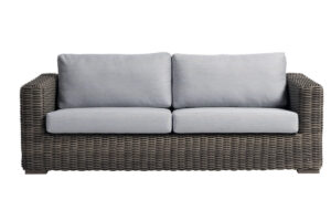 The Cubo collection Ratana sofa is a work of art.