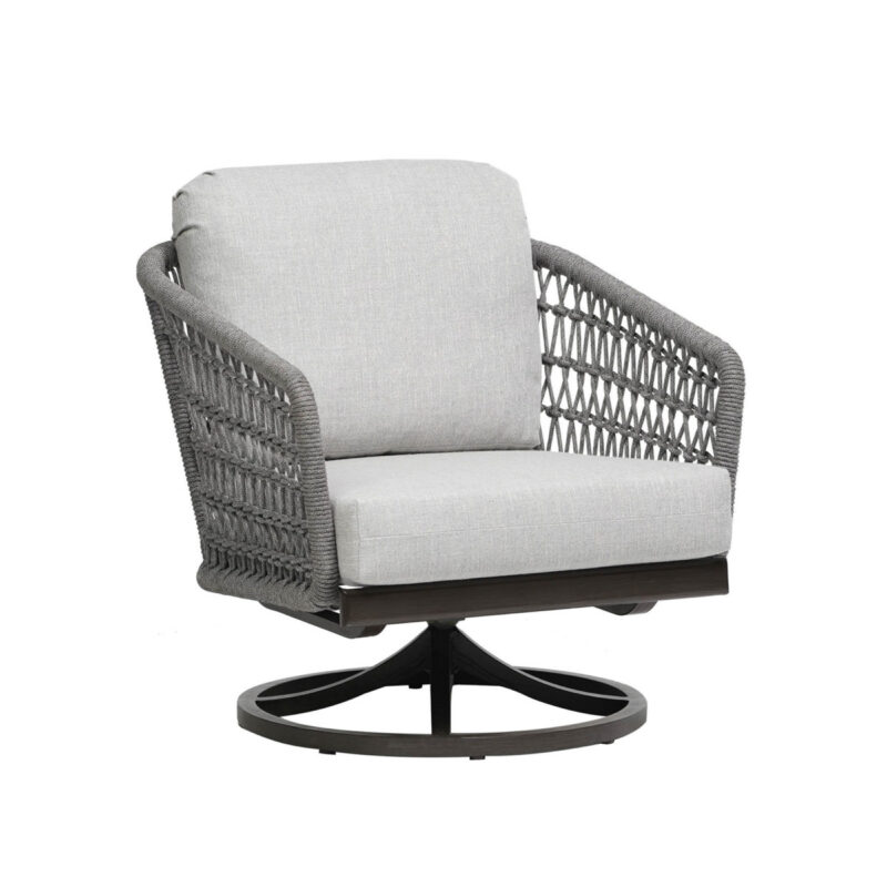The Ratana Poinciana collection swivel club chair.